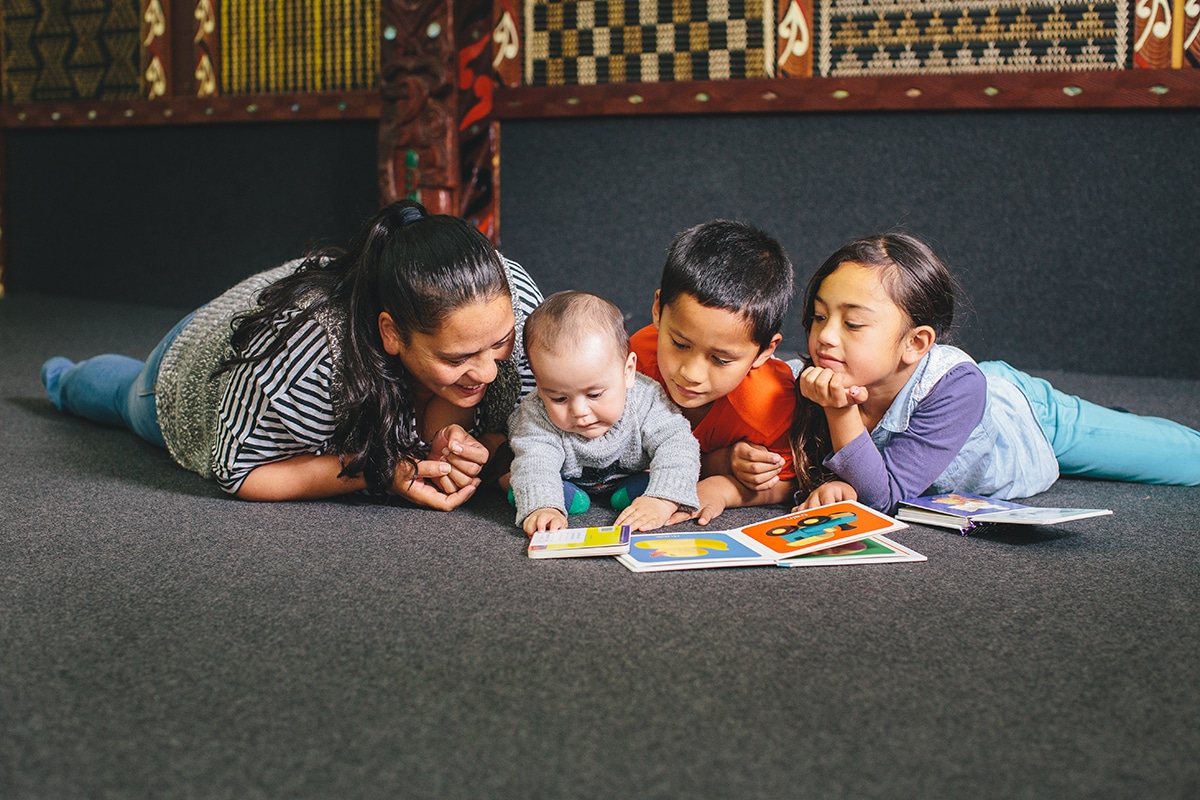 The value of reading to babies and young children